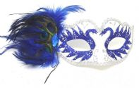 Blue Peacock Mask
